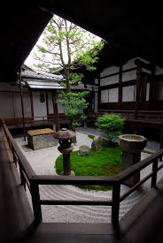 small courtyard gardens known as tsubo niwas became popular in