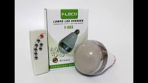 Led Light Bulb Speaker Review Lampu Led Speaker Fleco Keren Nih Indonesia Led Bulb