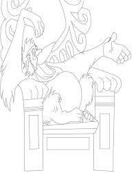 jungle book cartoon characters coloring pages
