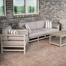 Grand Haven Piece Acacia Wood Outdoor Patio Sofa Set With Table - Patio furniture sofa sets