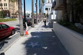 Hollywood Walk Of Fame Map Hollywood Walk Of Fame Road In Los Angeles Thousand Wonders