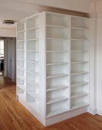 tall corner bookcase furniture appealing white corner bookshelf with ikea side table