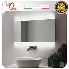 bluetooth bathroom mirror bathroom mirror led anti fog bluetooth v c vela ebay