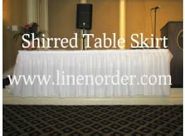 Table Skirts Table Skirts Table Skirts