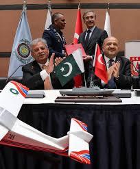 Procurement Letter Of Intent pakistan signs deal for 4 milgem ada class corvettes with turkey