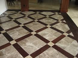tile top tile and wood floor combination decorations ideas