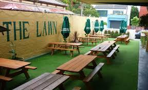 Backyard Beer Garden - the best beer gardens in melbourne concrete playground