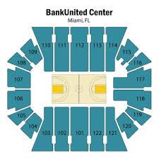 United Center Floor Plan Bankunited Center Seating Chart Bankunited Center Tickets