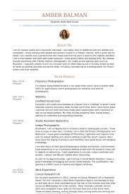 Volunteer Work On Resume Example by Freelance Photographer Resume Samples Visualcv Resume Samples