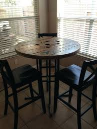 breakfast bar table set tall pub table best tall cafe table and chairs bar table black