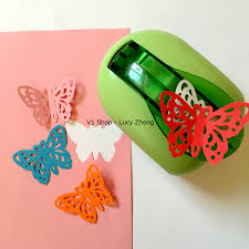 jef large butterfly shaper craft punch scrapbooking punches paper