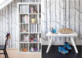 nature depicted on your walls u2013 birch tree wallpaper