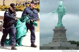 Pepper Spray Meme - pepper spray cop statue of liberty weknowmemes