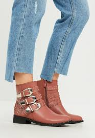 womens denim boots uk s boots faux leather and suede boots missguided