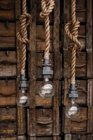 Hanging Industrial Lights by 204 Best Handcrafted Lighting Images On Pinterest Edison Bulbs