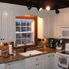 off white kitchen cabinets with antique brown granite archives
