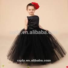 party frocks children black cotton frocks design for flower summer party