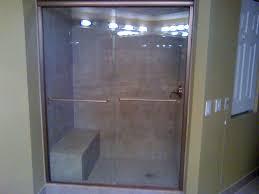 sliding glass shower door the variations of sliding shower doors