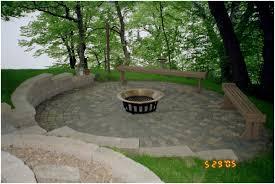 Backyard Grill Designs by Backyards Gorgeous Backyard Brick Patio Design Ideas 4967