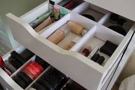 cosmetic drawer organizer home design ideas