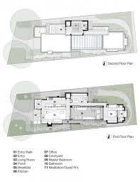 House Rules Floor Plan Carmel Residence Dirk Denison Architects Architects