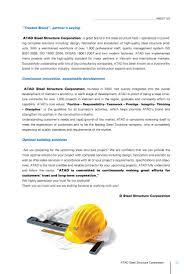 sustainable building solutions atad brochure english atad steel structure corporation