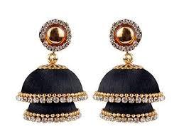 design of earrings jhumka design earrings at rs 600 pair chikka banaswadi