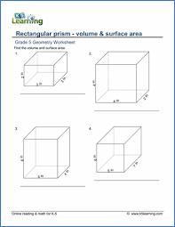 grade 5 volume worksheets deboline com