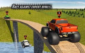 funny monster truck videos big monster truck rally racing 4x4 up hill climb android apps