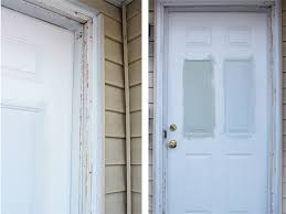 Exterior Replacement Door How To Install Exterior Trim Annabode Co