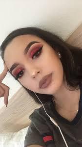 best 25 red eyeshadow ideas on pinterest red eye makeup red