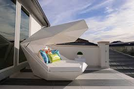 futuristic beds stylish and fashionable outdoor beds for the ultimate backyard lounge