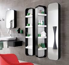 tulip tall swiveling mirrored cabinets