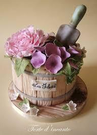 Flower Cakes Best 25 Flower Pot Cake Ideas On Pinterest Cupcake Flower Pots
