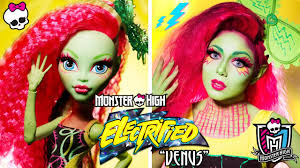 monster high venus mcflytrap makeup youtube
