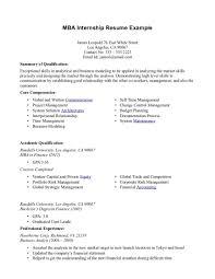Sample Mba Resumes by Graduate Mba Graduate Resume