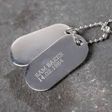 tag necklace mens images Personalised mens dog tag necklace gettingpersonal co uk jpg