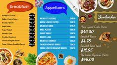 digital menu boards updated using excel at ife13 ds pinterest