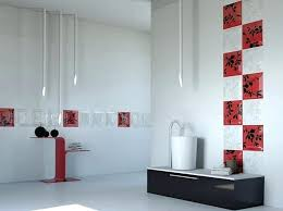 Red And Black Bathroom Decorating Ideas Latest Design Of Bathroom Tiles U2013 Justbeingmyself Me