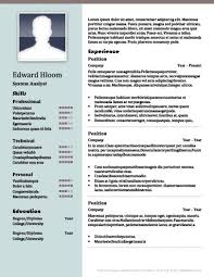 contemporary resume template free download 22 contemporary resume templates free download inside resume