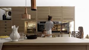 interior design kitchens 2014 sleek kitchen design and style with wooden inlays by gabriele