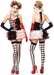 Harlequin Honey Halloween Costume U003e Women U003e U003e Clowns U0026 Circus Crazy Costumes La Casa
