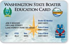 washington state boater education card replacements boaterexam