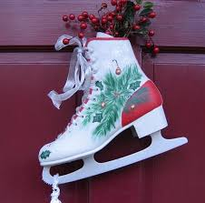 Christmas Decorations Ice Blue by 295 Best Ideals Christmas Ice Skates Decorations Images On