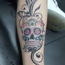 flower sugar skull best ideas gallery