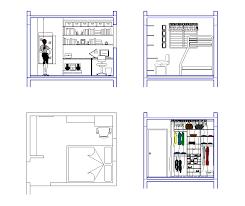 interior layout dwg bedroom interior design cad drawing cadblocksfree cad blocks free