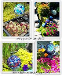 Cheap Gazing Balls Make The Best Of Things Glass Garden Balls Diy