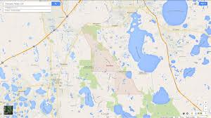 Sanford Florida Map by Poinciana Florida Map