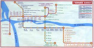 Hong Kong Mtr Map Guangzhou Mtr Map And Tourism Tips