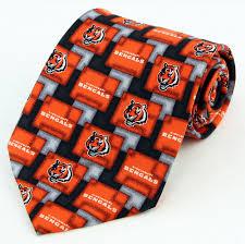 Cincinnati Bengals Halloween Costume Cincinnati Bengals Mens Necktie Nfl Football Team Logo Sports